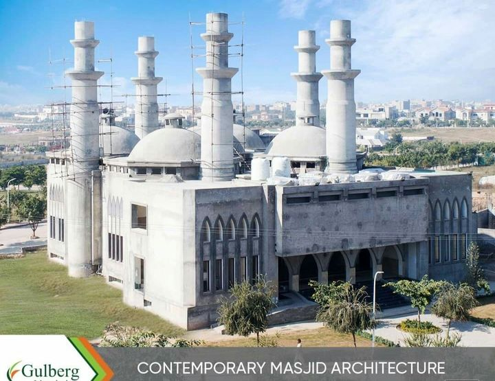 Beautiful Mosques at gulberg greens islamabad