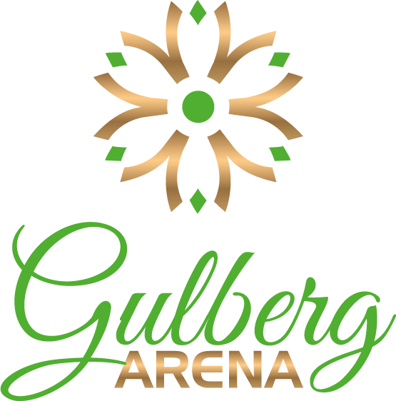 gulberg arena mall logo, a project of al-ghani group islamabad
