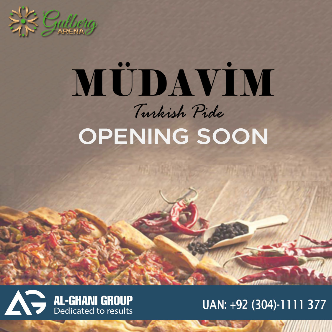 Mudavim outlet in gulberg arena mall at Islamabad