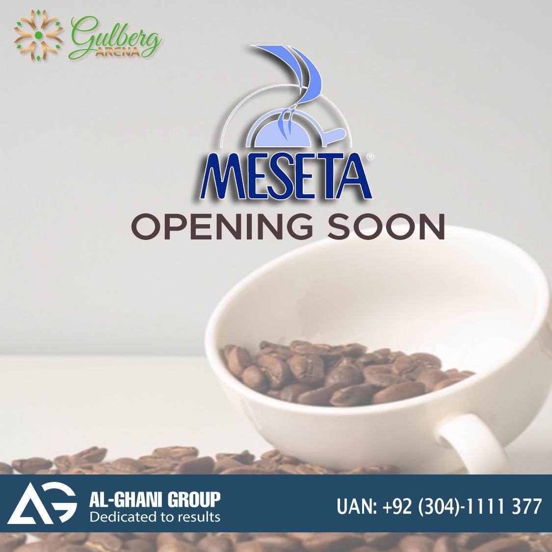 meseta coffee court in gulberg greens, gulberg arena mall islamabad